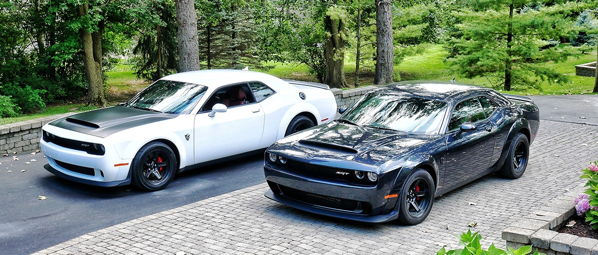 Dodge Garage: PART ONE Who Says You Can't Road Trip in the Dodge Challenger SRT Demon?