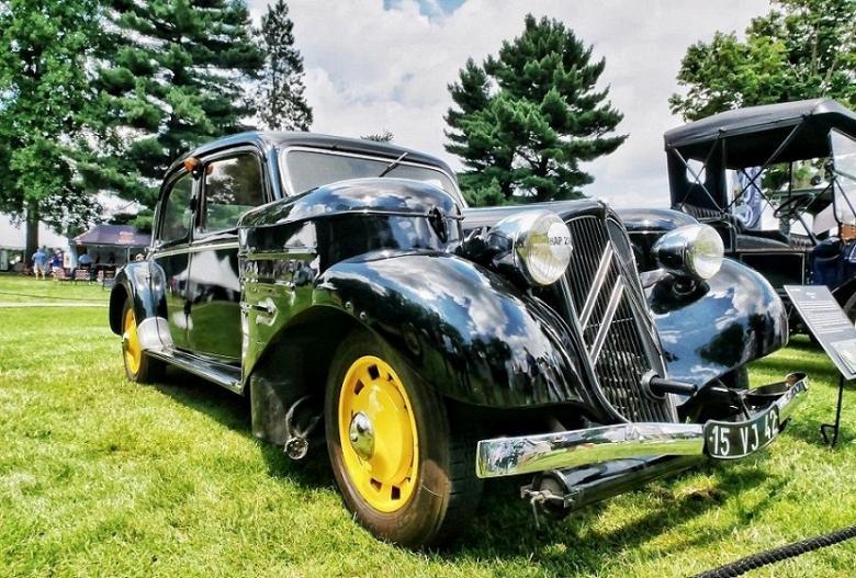 TheFabricator.com: Coal-burning 1938 Citroën prime example of fabrication innovation