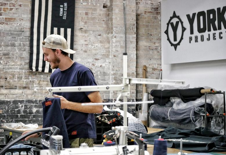"Still Building America: Detroit ""social streetwear"" clothing manufacturer York Project, Part I"