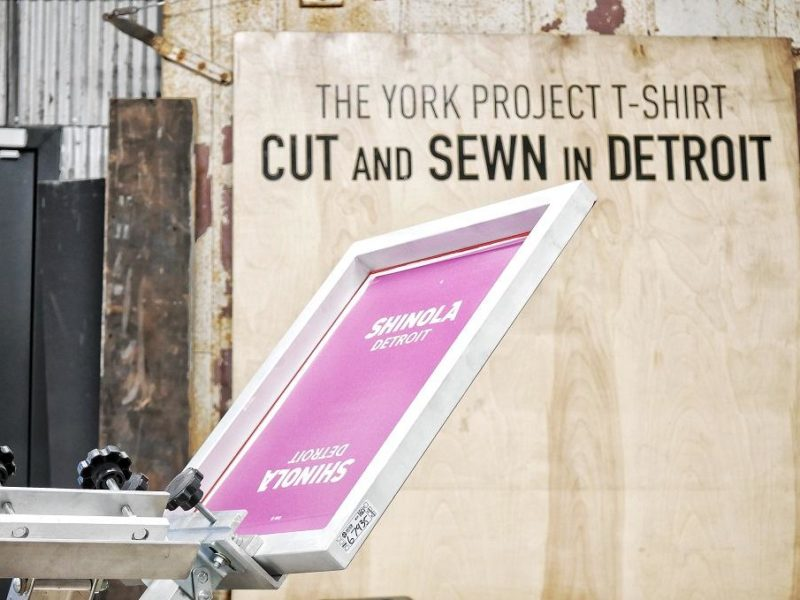 "Still Building America: Detroit ""social streetwear"" clothing manufacturer York Project, Part 2"