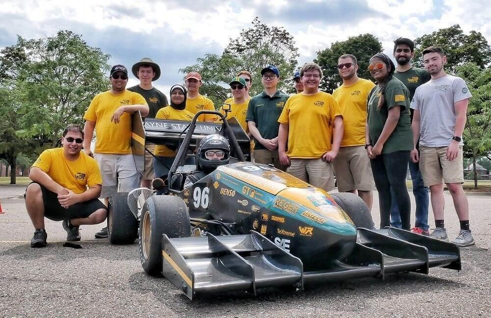 Wayne State students are working overtime with Formula SAE
